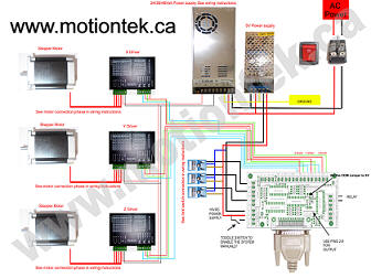 CNCController on limit switch wiring diagram